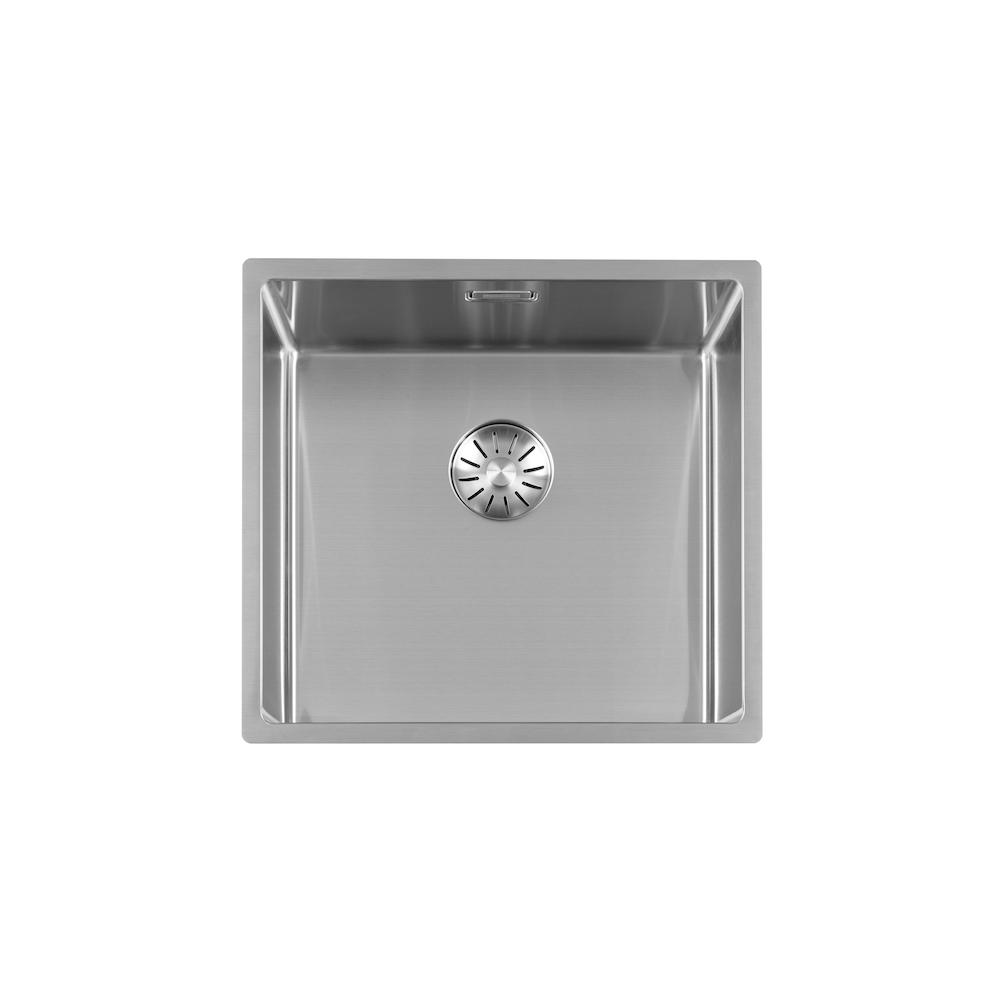 RVS spoelbak Lorreine 40SP b40 x d40 x h18,5 cm.