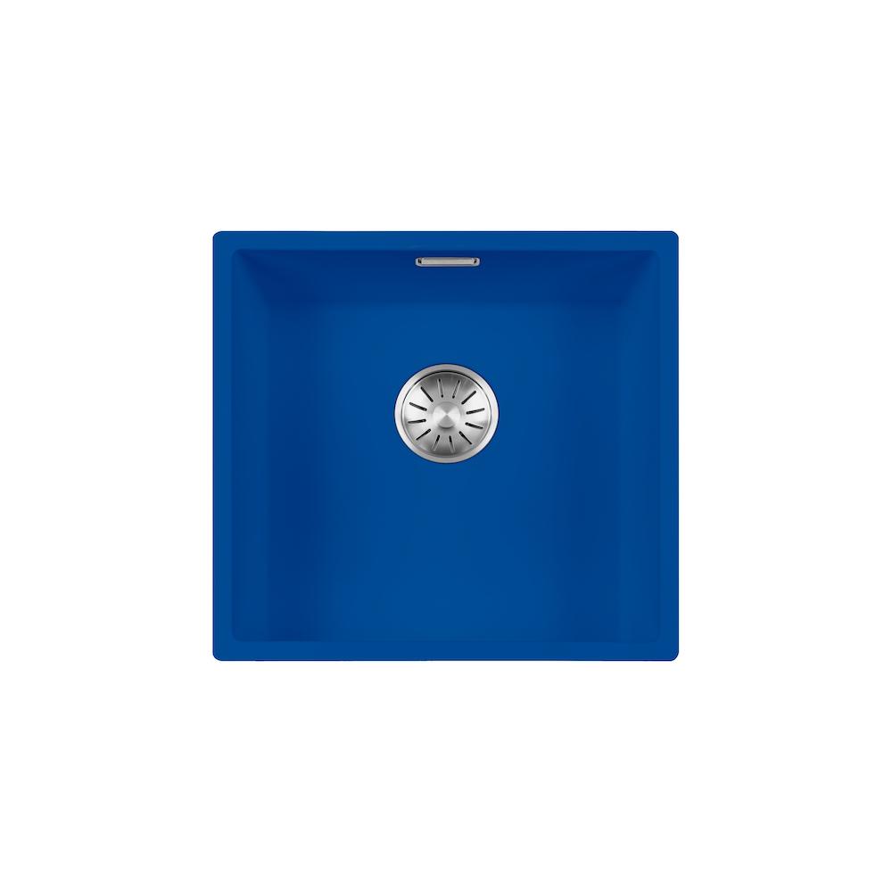 RVS spoelbak Lorreine 40R-CLR-Kleur b40 x d40 x h18,5 cm.