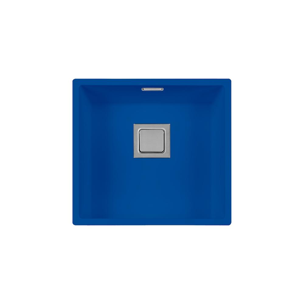 RVS spoelbak Lorreine 40VK-CLR-Kleur b40 x d40 x h18,5 cm.