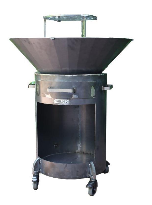 Barrel 800 Vuurschaal BBQ